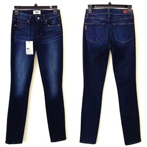 PAIGE Skyline Skinny Jeans in Reagan New